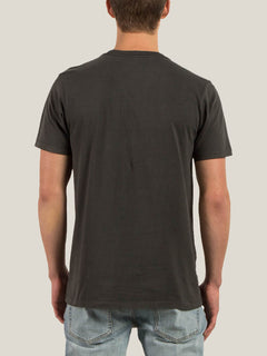 T-Shirt Manches Courtes Pale Wash Solid - Black