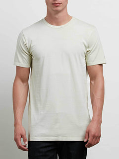 T-Shirt Manches Courtes Pale Wash Solid - Clay