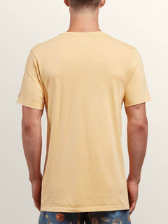 T-Shirt Manches Courtes Pale Wash Solid - Sunburst