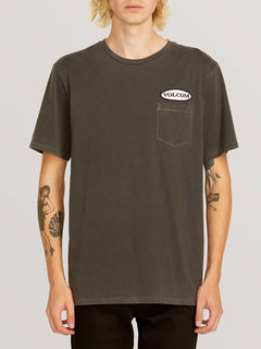T-shirt Oval Patch - Black