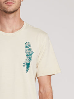 Parrot Collage T-shirt - White Flash (A5231903_WHF) [1]