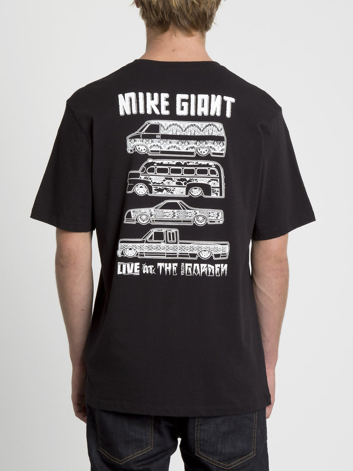 Mike Giant T-shirt - Black (A5231951_BLK) [B]