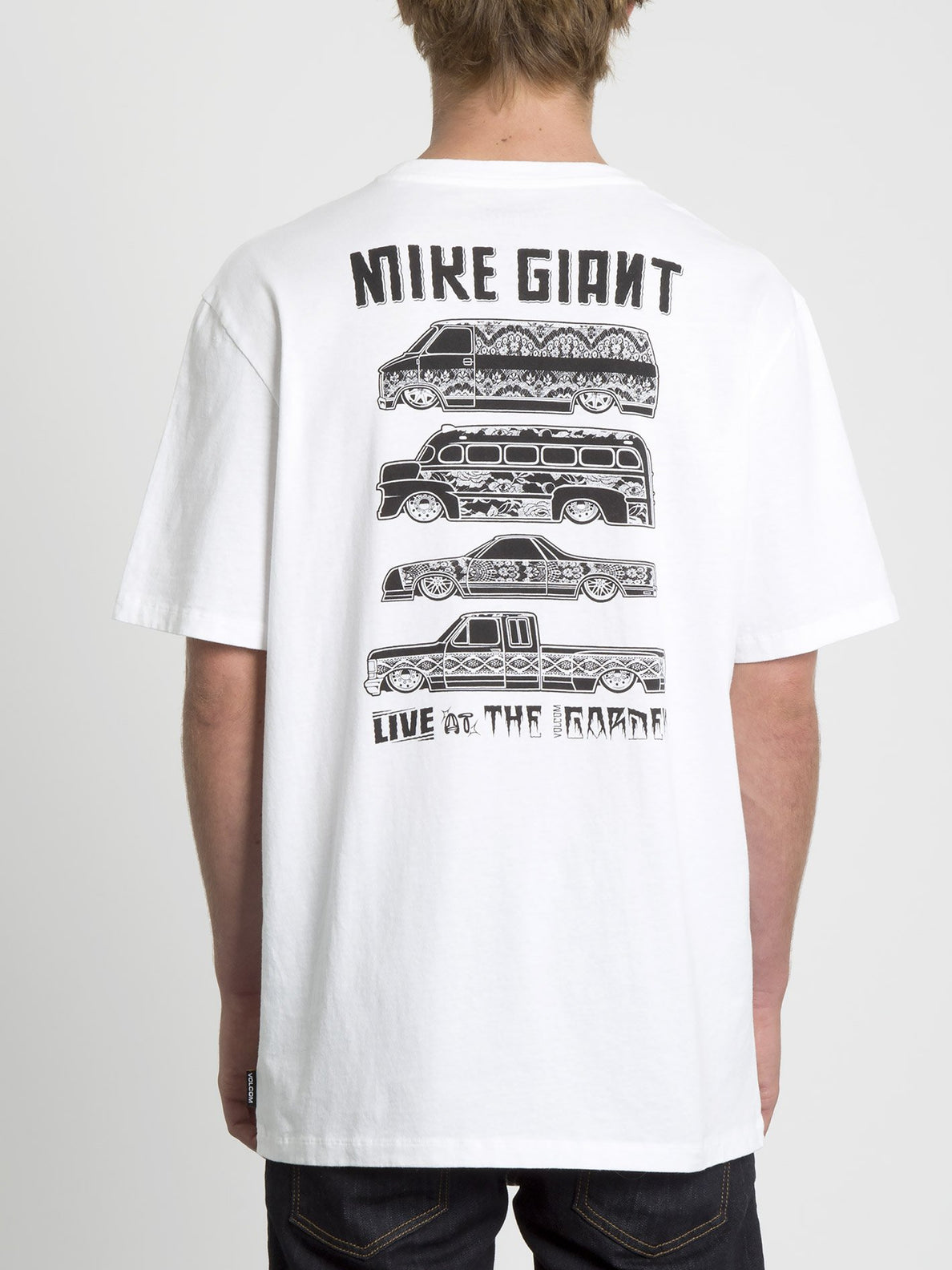 Mike Giant T-shirt - White (A5231951_WHT) [B]
