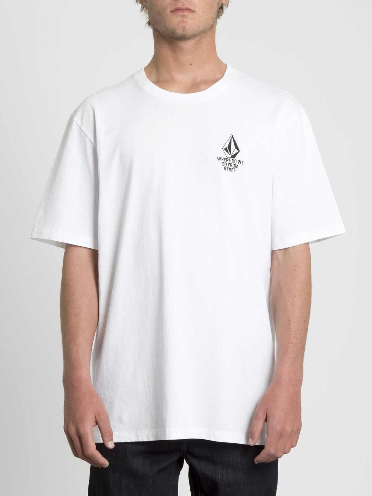 Mike Giant T-shirt - White (A5231951_WHT) [F]
