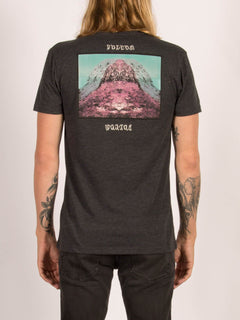 T-shirt manches courtes Mount Vacant - Heather Black