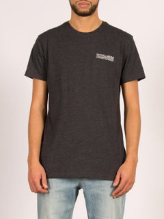 T-shirt manches courtes Vear - Heather Black