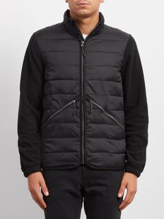Sweat Foley Zip - Black