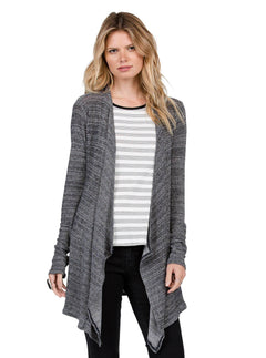 Cardigan Lived In Go Wrap - Black