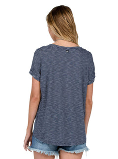 T-shirt manches courtes Galoree Daze - Sea Navy