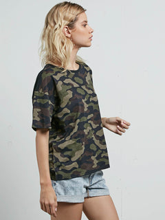 T-shirt à manches courtes Throw Shade - Dark Camo