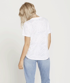 T-shirt Geo Arty - White