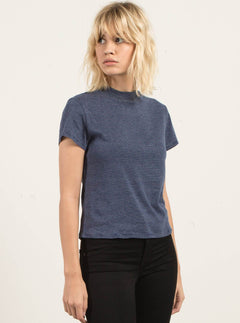 T-Shirt Manches Courtes She Shell - Navy