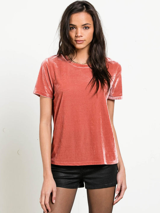 Top En Velours You In  - Mauve