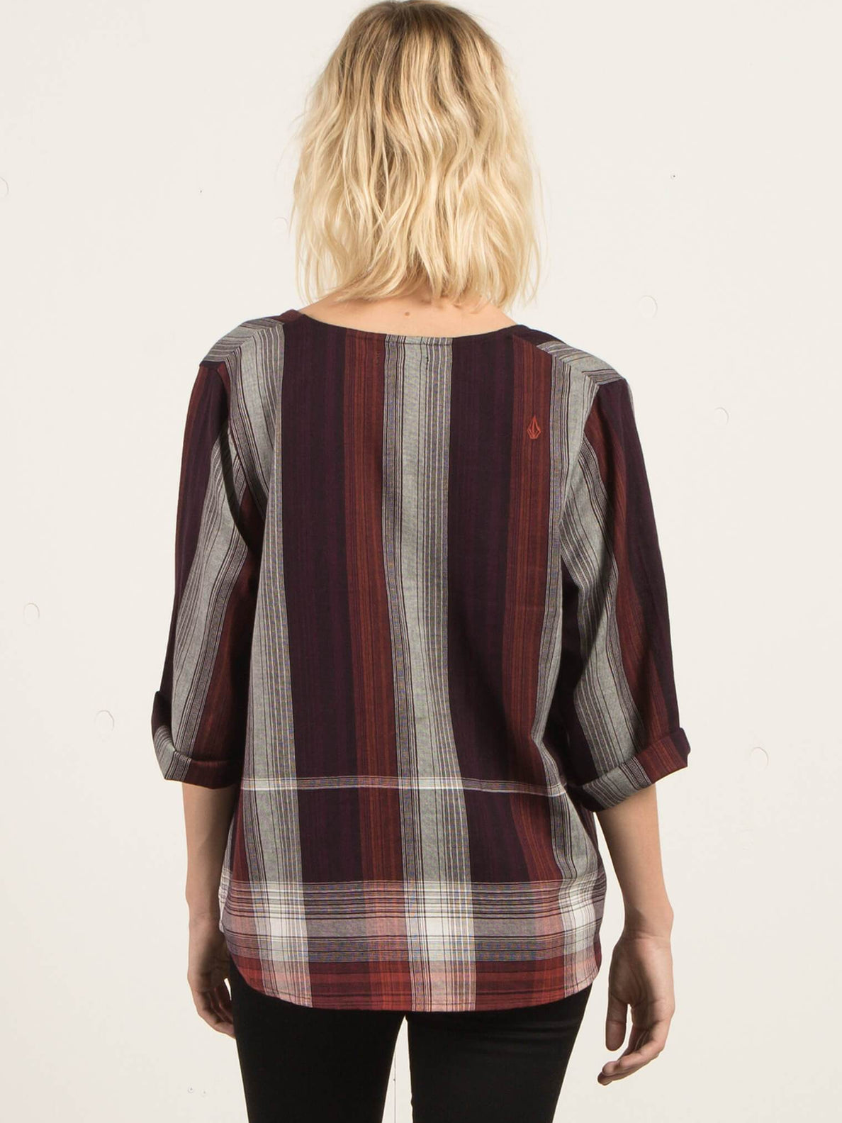 Well Plaid Throw - Plum