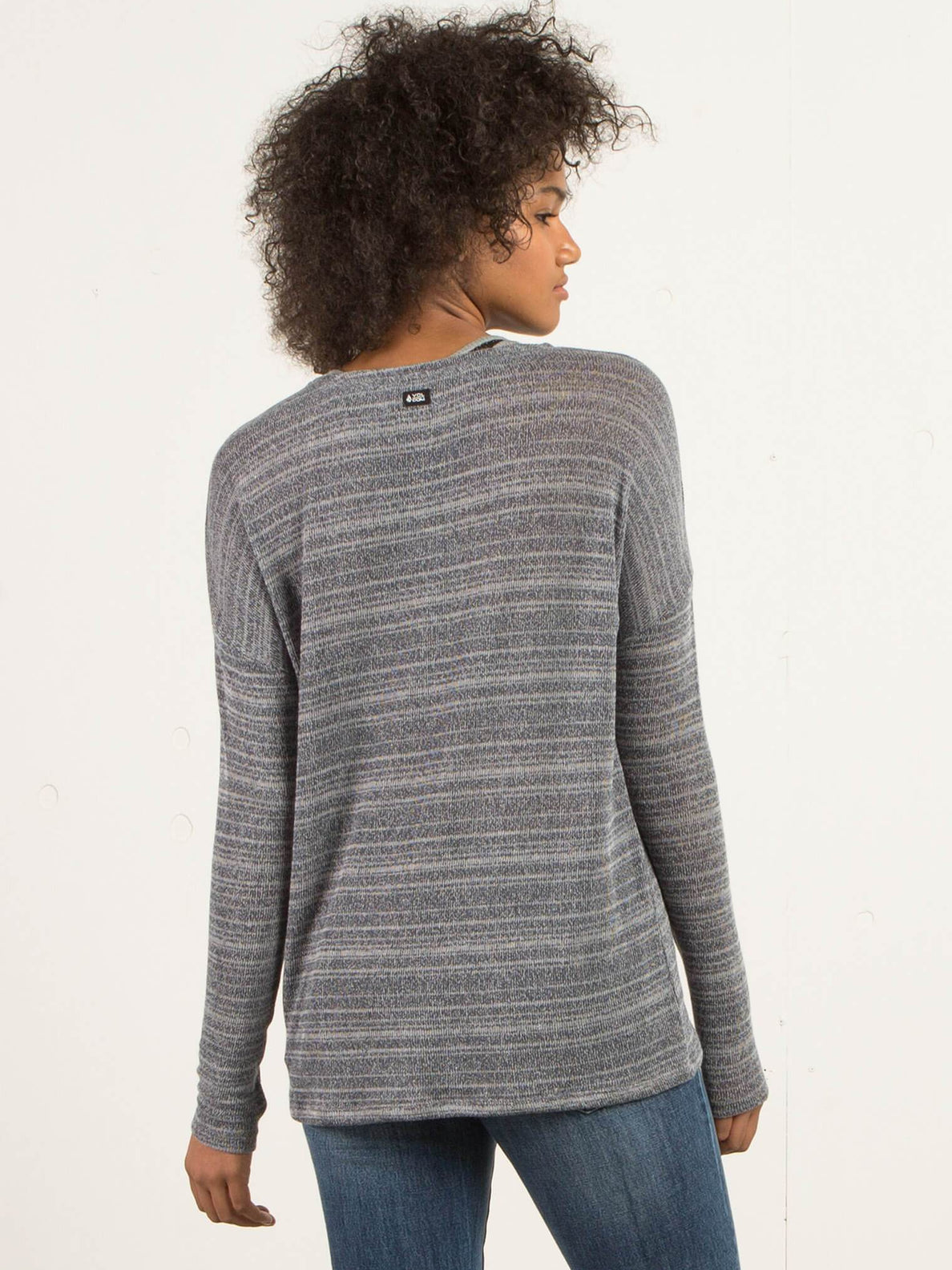 Sweater Go Go Crew - Charcoal