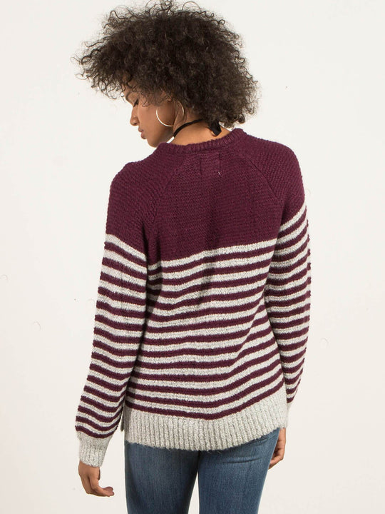 Pull-Over Cold Daze - Plum