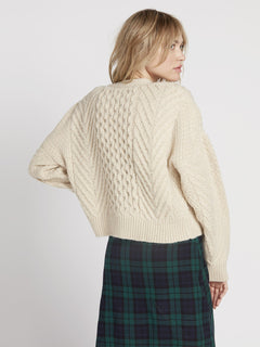 Bettergetter Cardigan - Cream (B0731906_CRM) [B]