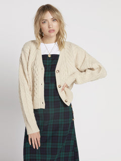 Bettergetter Cardigan - Cream (B0731906_CRM) [F]