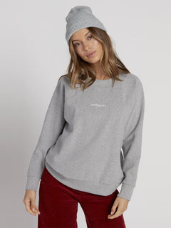 Eavy Sweater - Heather Grey (B0731952_HGR) [F]