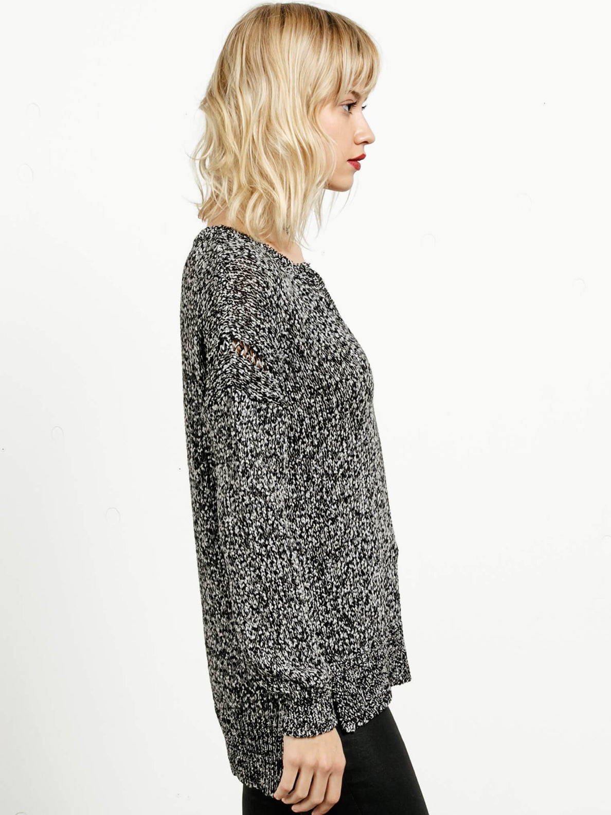 Keepin Cozy Sweater - Black