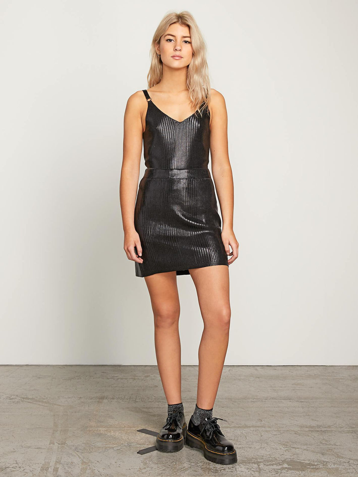 Hey Slick Skirt - Black