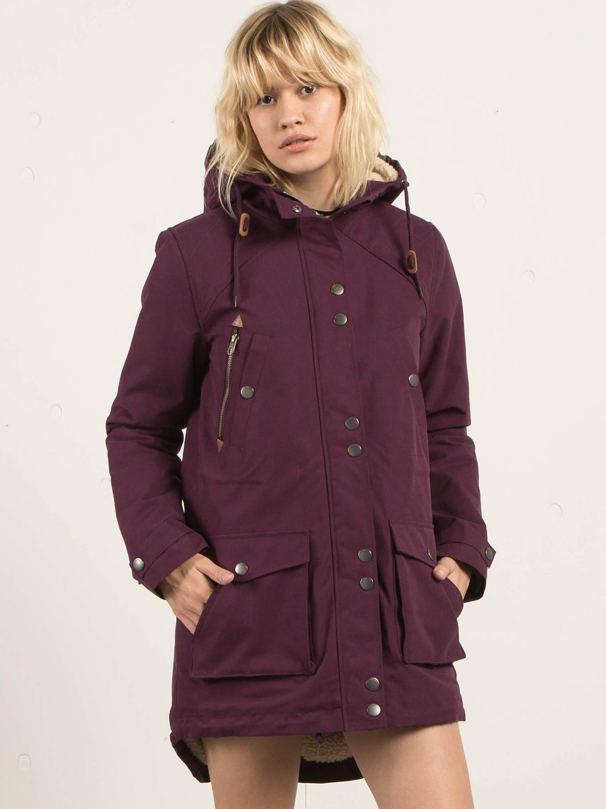 Veste Walk On By  - Plum