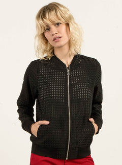 Veste Fine Georgia May Jagger - Black