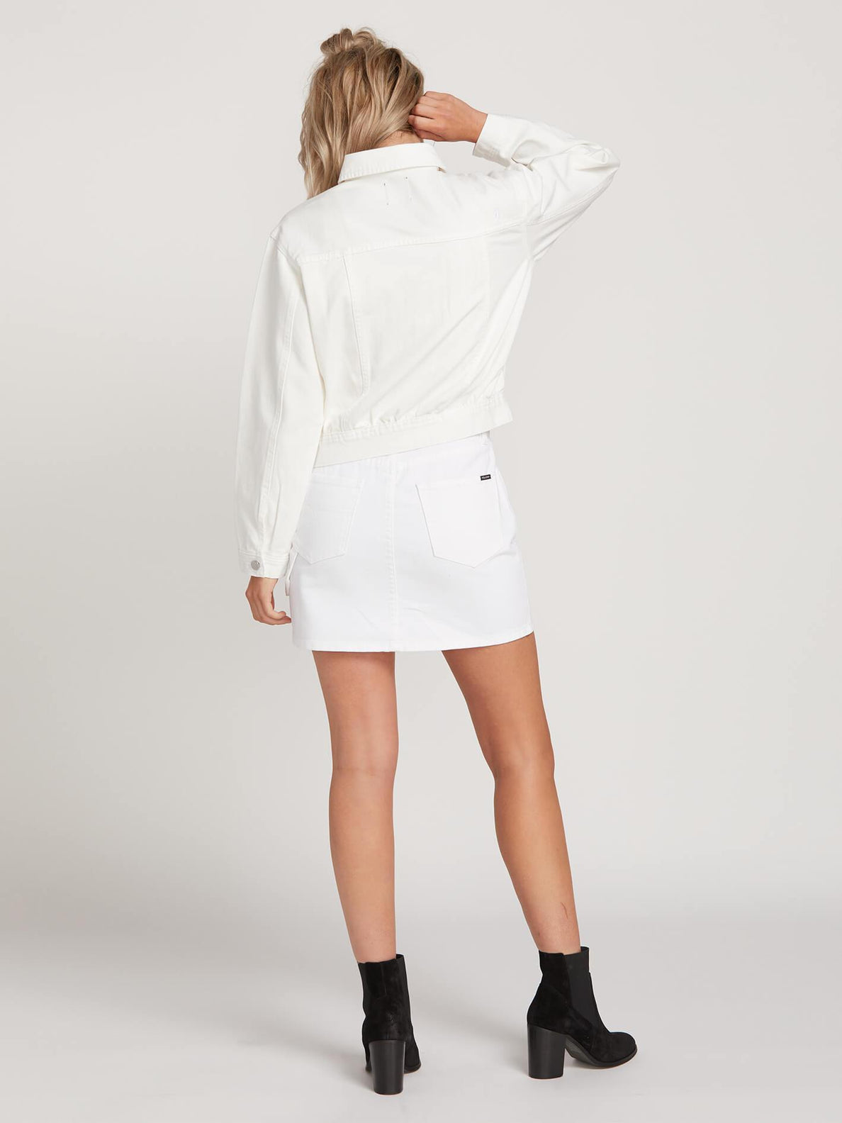 Veste en jean Fix It - White
