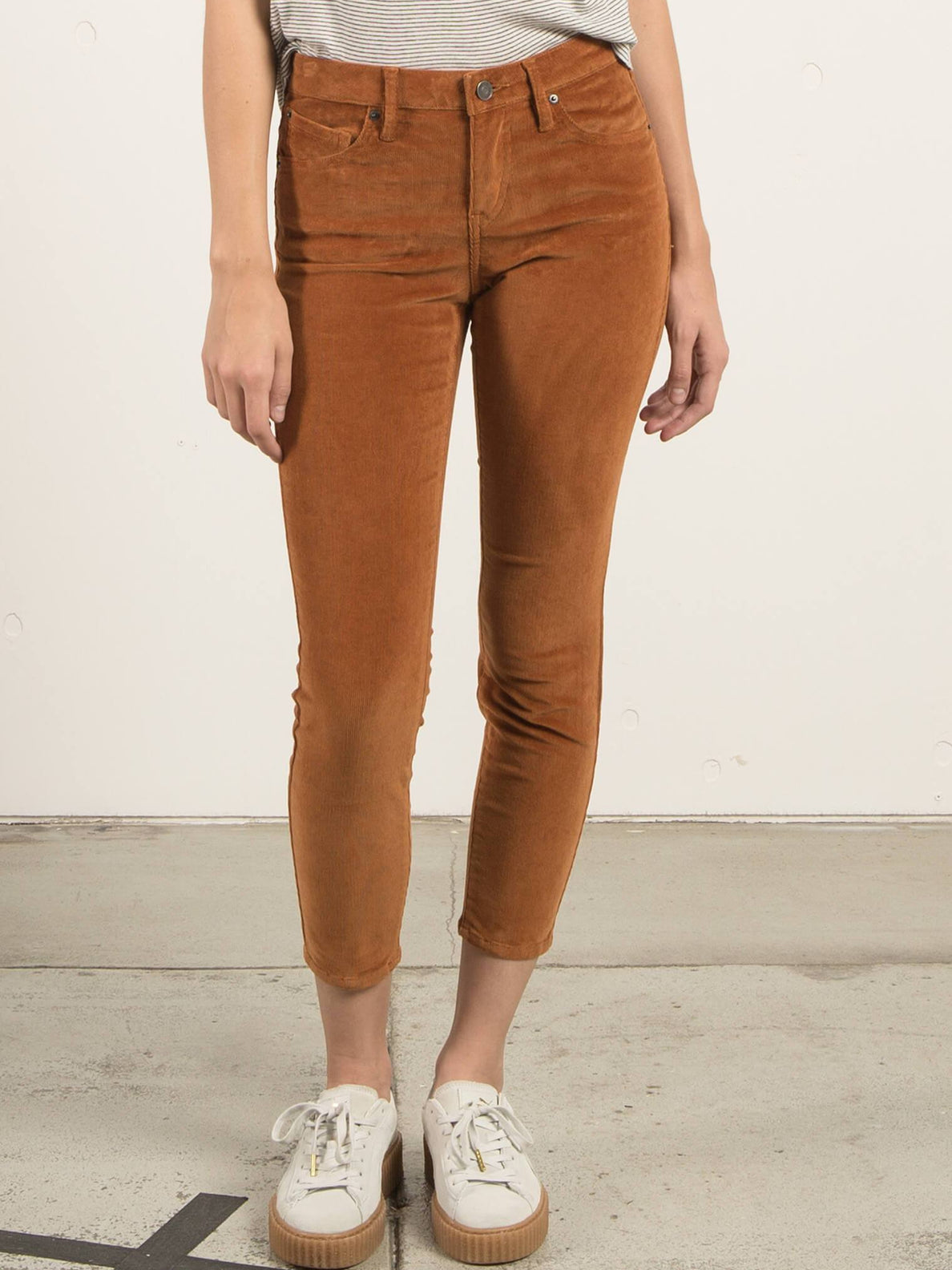 Jean Super Stoned Ankle - Caramel