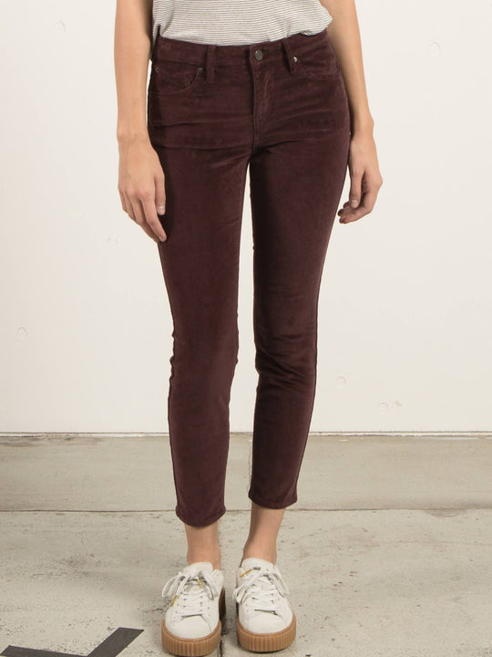 Jean Super Stoned Ankle - Plum