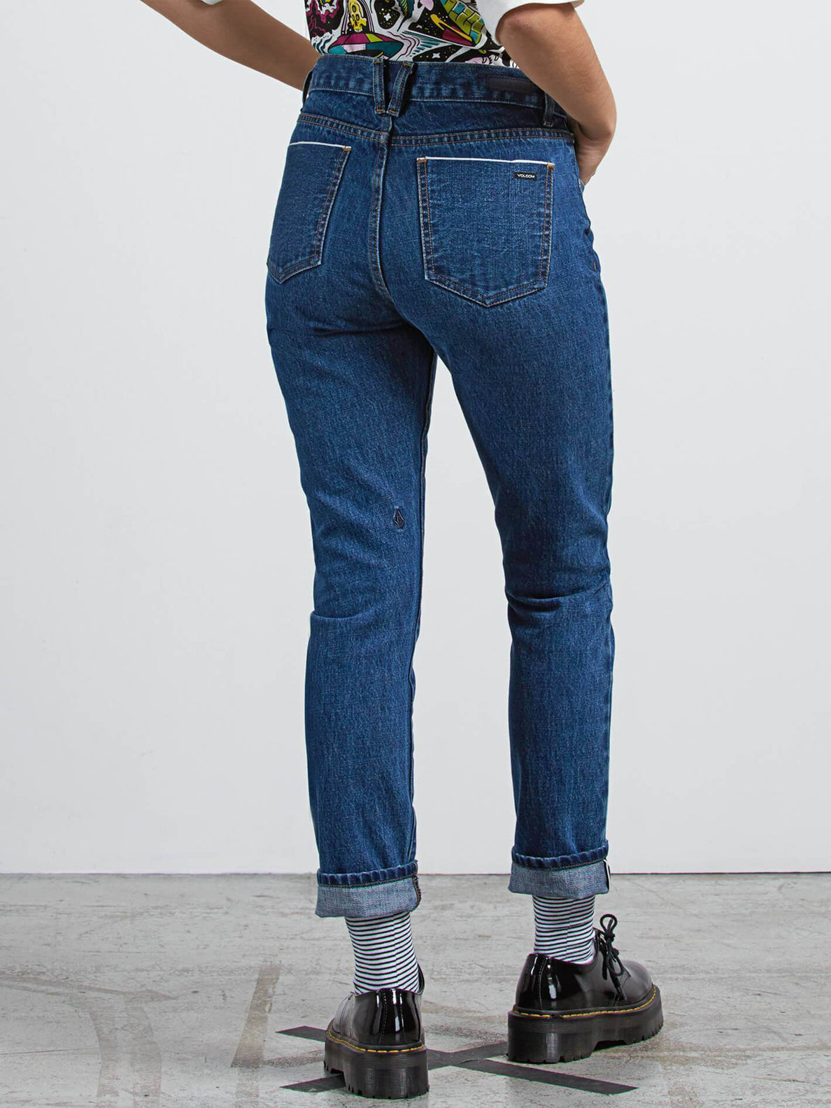 Jean Super Stoned Skinny - Used Blue