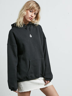 Sweatshirt à capuche Roll It Up - Black