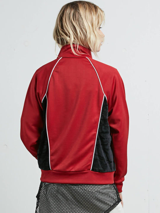 Veste True to Track - Chili Red