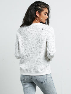 Sweatshirt Mix A Lot Crew - Star White