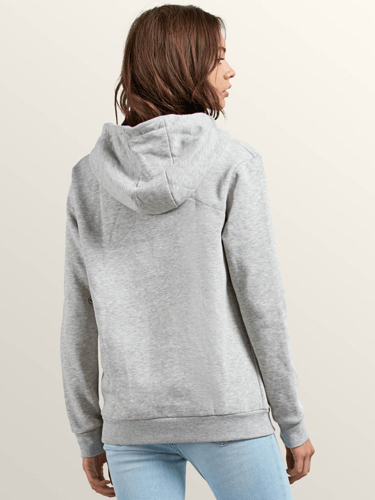 Sweat Walk On By High Neck - Heather Grey