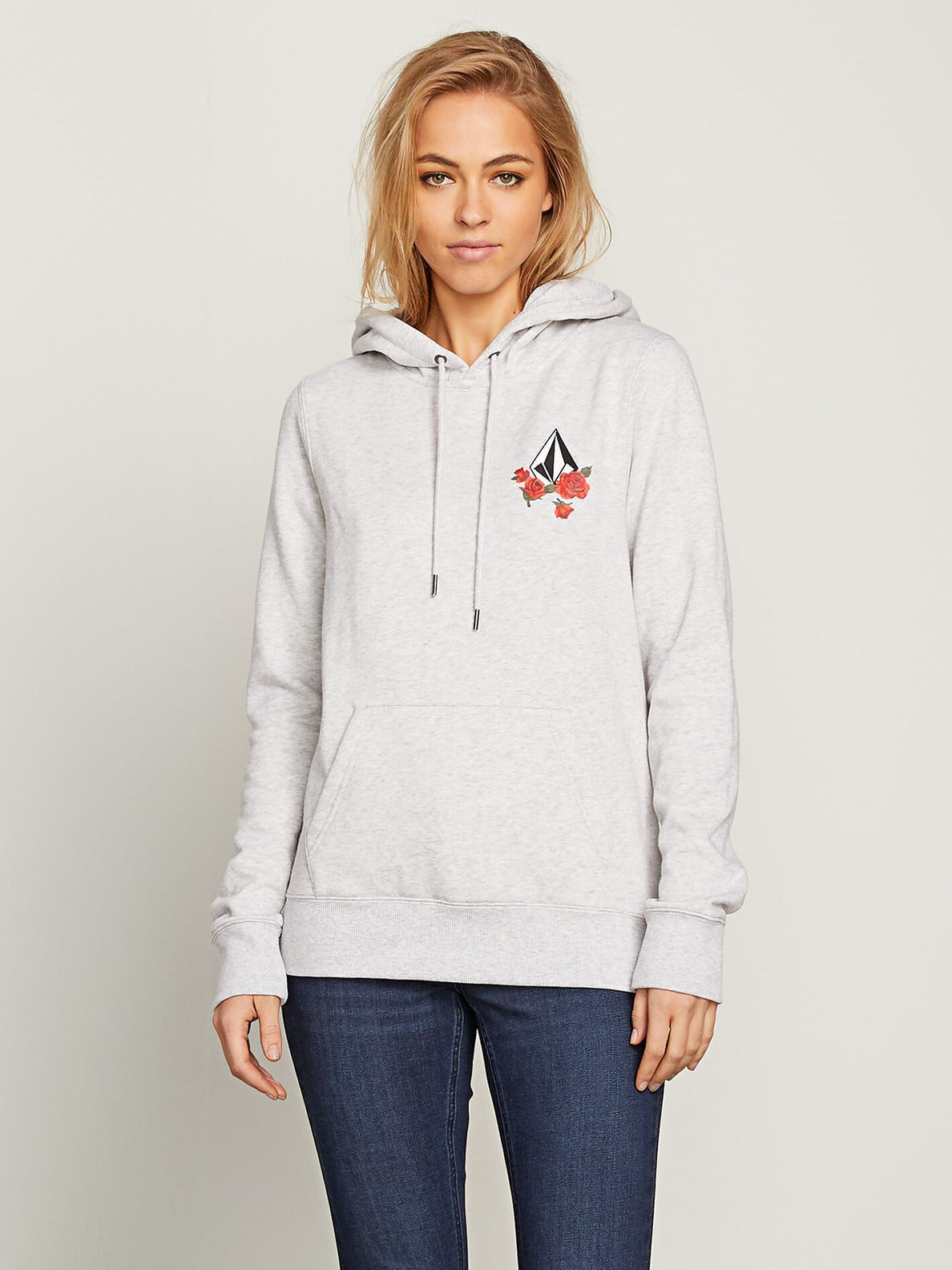 Sweat Vol Stone Hoodie - Light Grey