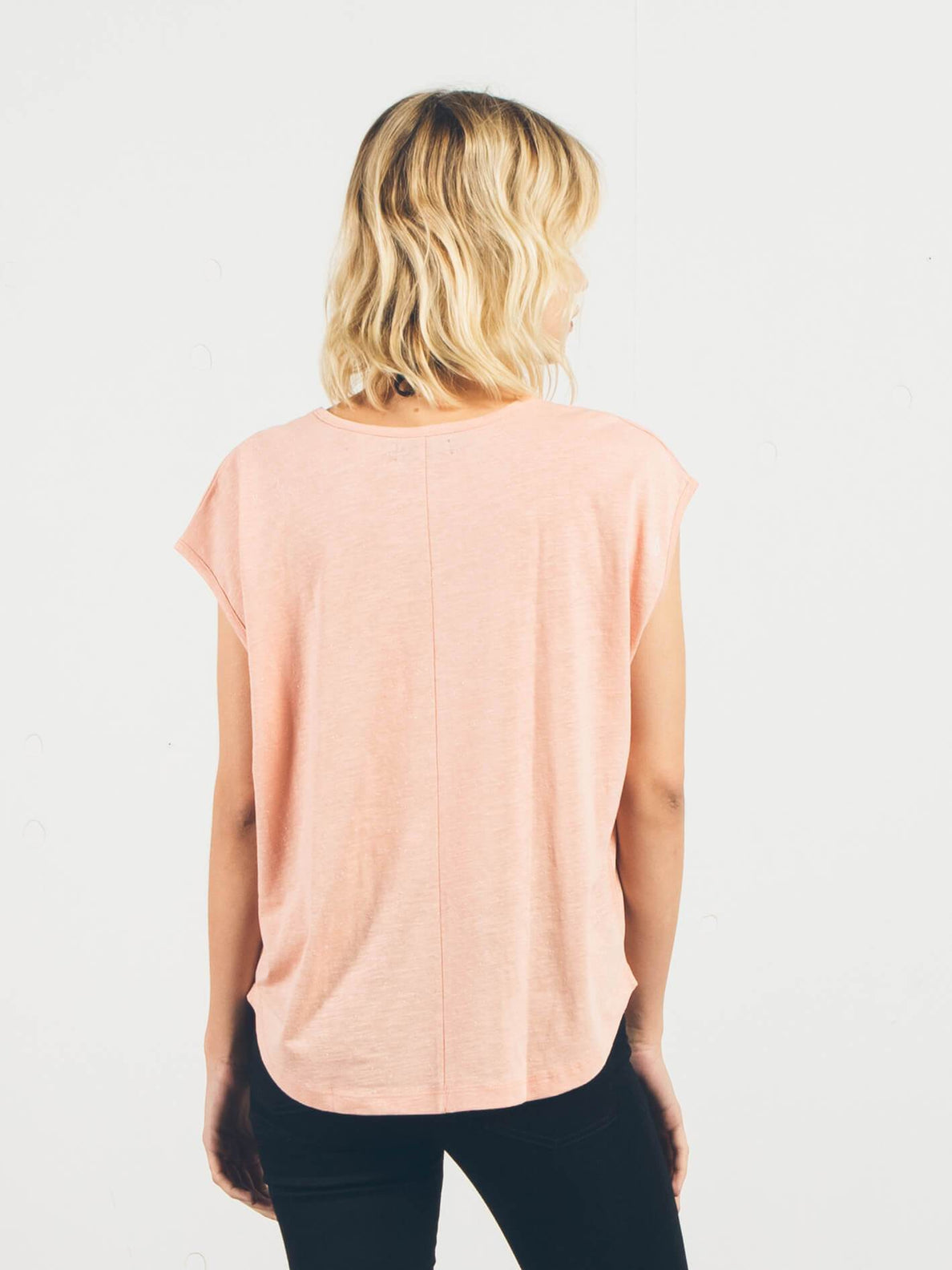 T-shirt à manches courtes Simply Solid - Mellow Rose