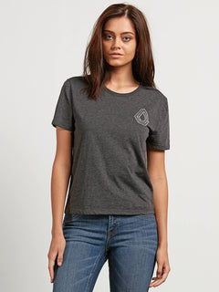 T-shirt Skullactic Wave  - Charcoal