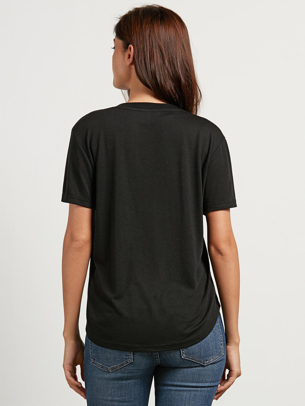 T-shirt Volneck   - Black