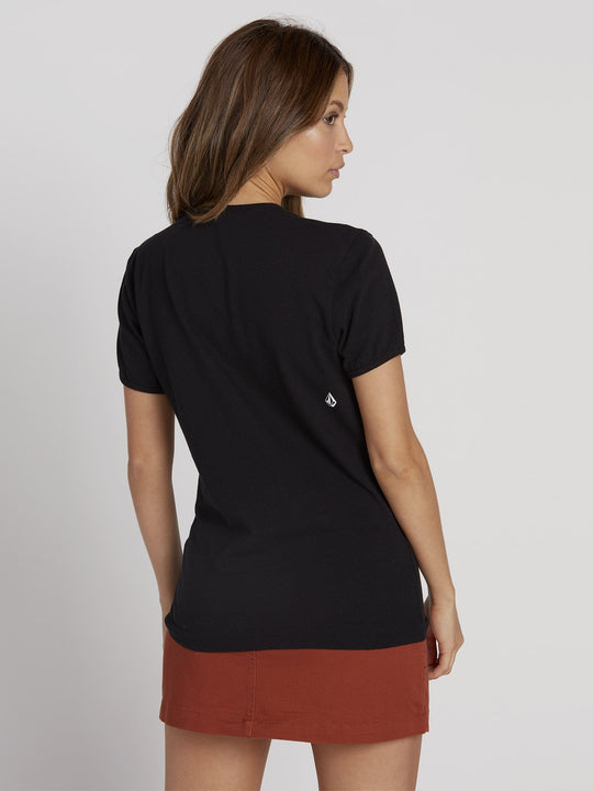 Keep Goin Ringer T-shirt - Black (B3531951_BLK) [B]