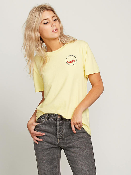 T-shirt I'll Take Both Tee - Faded Yellow