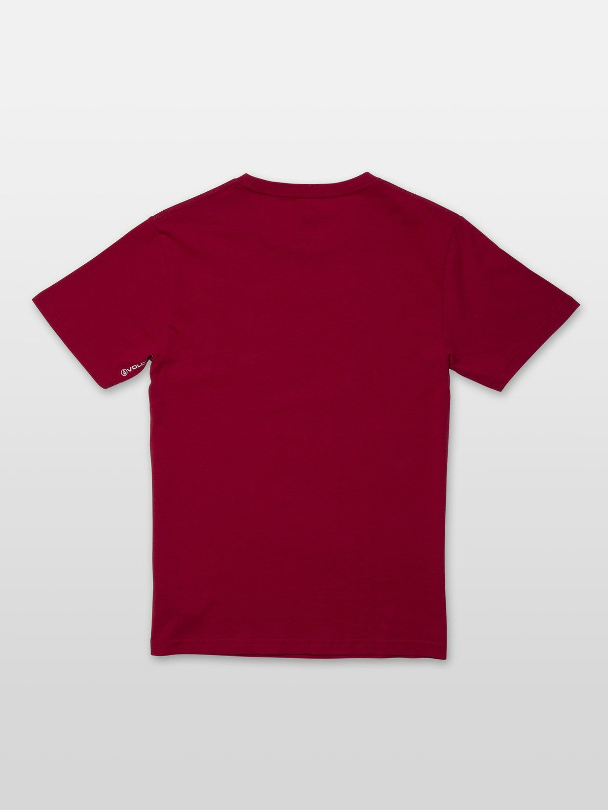 Stone Blank T-shirt - Engine Red (C3531952_ENR) [B]