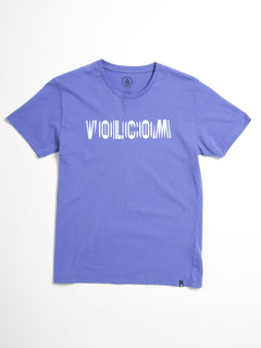 T-shirt Volcom Frequency (Enfant) - Dark Purple