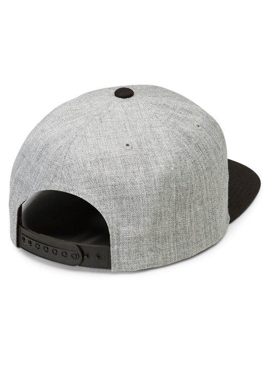 Casquette Quarter Twill - Black Grey