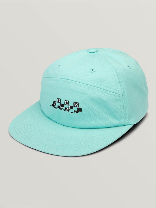 Casquette Broken Check - Pale Aqua