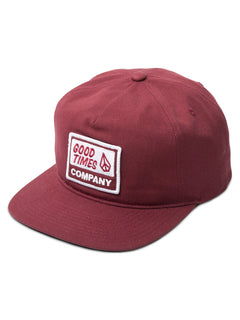 Casquette Righteous - Burgundy