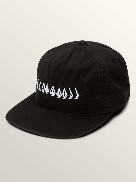 Casquette Stone Cycle - Black