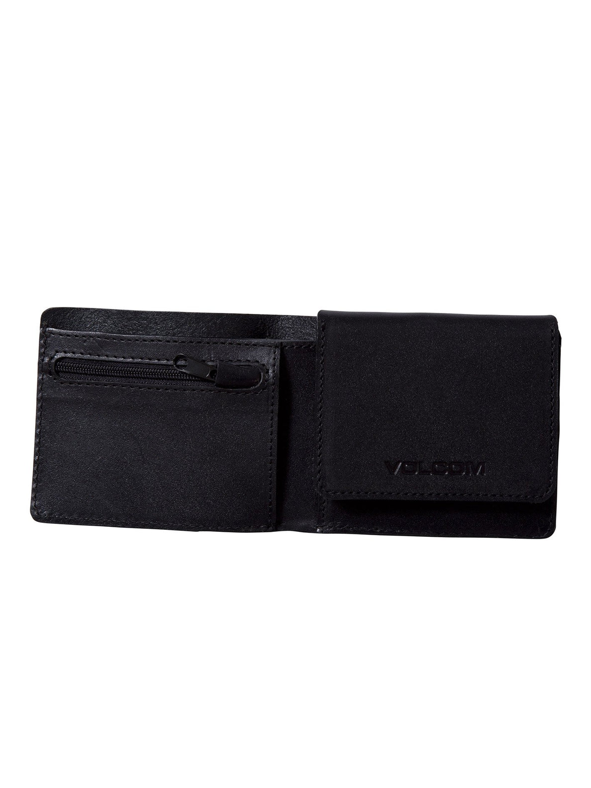 3Fold Leather Wallet - Black (D6011955_BLK) [1]