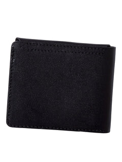 3Fold Leather Wallet - Black (D6011955_BLK) [B]
