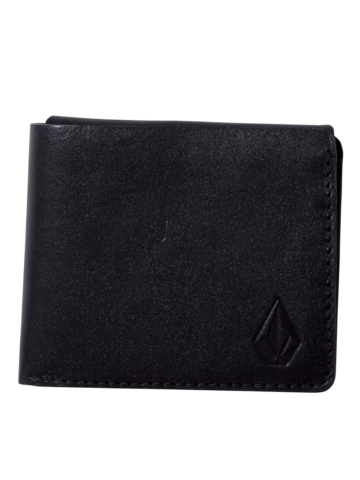 3Fold Leather Wallet - Black (D6011955_BLK) [F]